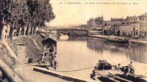 Toulouse, le port Saint-Etienne (n'existe plus)